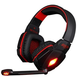 MyXL ELKE G4000 Pro USB 3.5mm Gaming hoofdtelefoon Stereo Bass Gamer Headsets Met Microfoon LED Verlichting Voor PC Computer Laptop Game