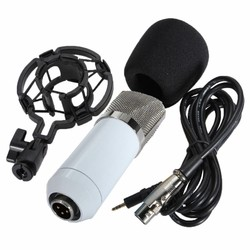 MyXL LEORY BM 700 Condensator Microfoon Professionele Karaoke Microfoons Mic Met Shock Mount Voor PC KTV Zingen Studio Opname