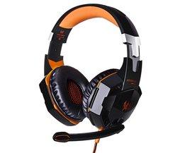 KOTION ELKE G2000 hoofdtelefoon luminous oortelefoon Gaming headset gamer met microfoon hoofdtelefoon voor computer pc