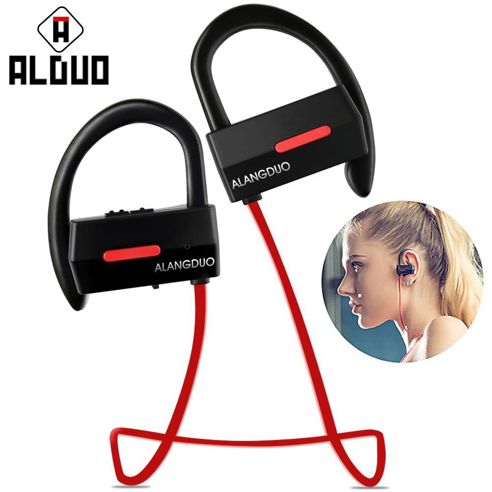 Bluetooth Oortelefoon 4.1 Sport Draadloze Koptelefoon Waterdichte Stereo Super Bass Oorhaak headset