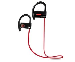 ALANGDUO A1 auriculares inalambrico bluetooth headset Waterdichte Draadloze Sport Bass Bluetooth V4.1 Oordopjes met Microfoon Voor iPhone