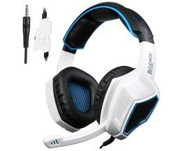 Sades SA920 PS4 PC Gamer Game Headset 3 in1 Stereo Gaming Hoofdtelefoon met Mic Volumeregeling voor Mobiele Telefoon Xbox360 Tablet