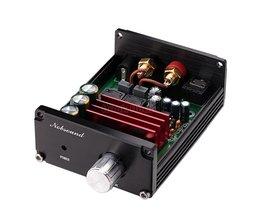 Nobsound Hifi 100 W Mini Subwoofer Power Audio Versterker Alle aluminium Amp Zwart/Grijs