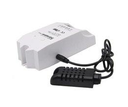 ITEAD Sonoff TH16 WiFi Smart Switch Smart Home Temperatuur En Vochtigheid Sensor afstandsbediening DS18B20 AM2301 Via Smartphone
