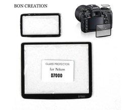 BON CREATIE LCD Optische Glas Screen Protector voor Nikon D7000 D7100 Professionele Camera Scherm Film
