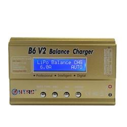 MyXL HTRC Imax B6 V2 80 W Professionele Digitale Batterij Balans Lader Ontlader voor LiHV LiPo LiIon Leven NiCd NiMH PB batterij