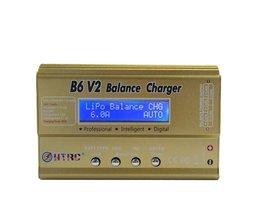 HTRC Imax B6 V2 80 W Professionele Digitale Batterij Balans Lader Ontlader voor LiHV LiPo LiIon Leven NiCd NiMH PB batterij