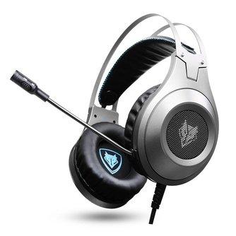 XIBERIAHoofdtelefoon NUBWO N2 Stereo Gaming Headset Gamer casque met Microfoon voor Computer/PS4/Xbox een/Laptop