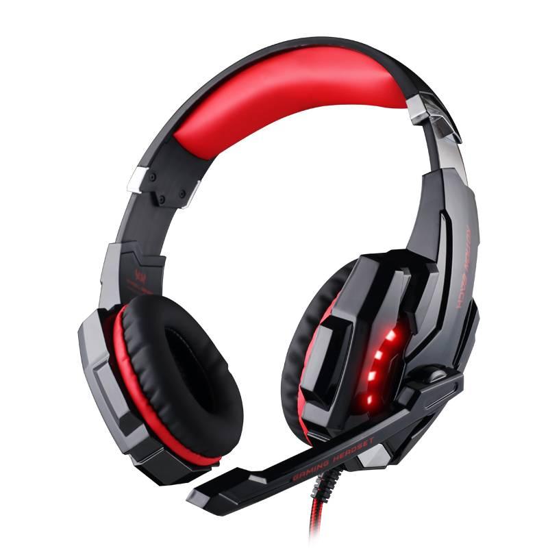 ZAPETOriginal G9000 3.5mm Game Gaming Hoofdtelefoon Oortelefoon Met Microfoon LED Licht Voor Laptop