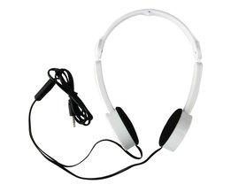 BBGear Opvouwbare Hoofdtelefoon 3.5mm Oortelefoon met Microfoon Wired Vouwen Gaming Hoofdtelefoon Headset voor Telefoon Computer Mp3-speler