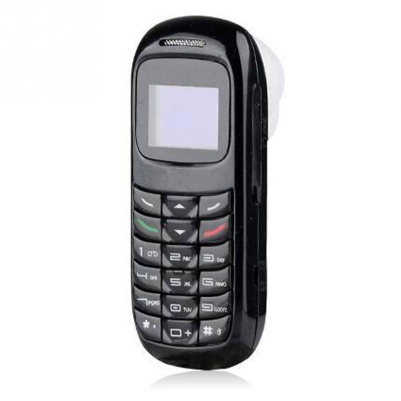 BM70 Mini Kleine GSM Mobiele Telefoon Bluetooth Dialer Oorhaak Headset