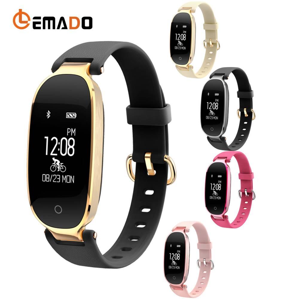 Lemado S3 Hartslag Smart Armband Fitness Tracker Stappenteller Calorieën Fitness Smart Band Wekker T