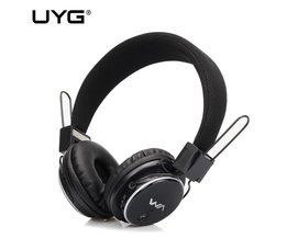 UYG Bluetooth hoofdtelefoon Draadloze Headset Diepe bas Ondersteuning Tf-kaart FM kids Hoofdtelefoon met Microfoon voor telefoon computer lapotp