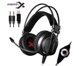 Xiberia V10 Beste Zware Bass Gaming Hoofdtelefoon Met Microfoon Trillingen Ademhaling Led Light Stereo Casque PC Gamer Headset voor Computer