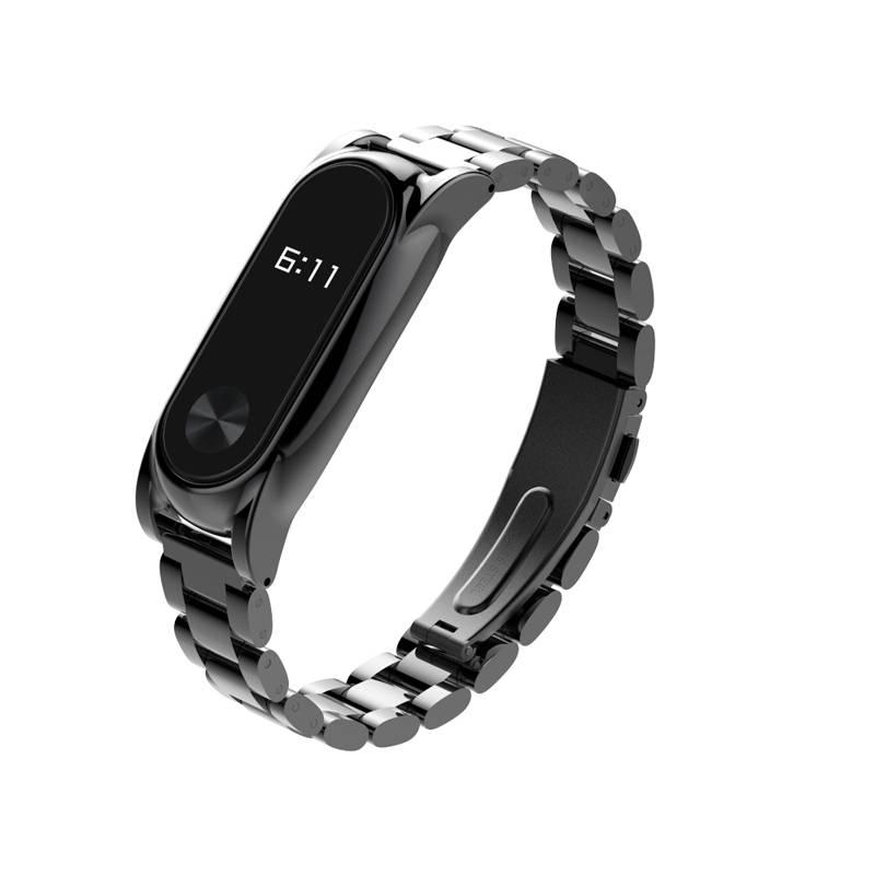 TEAMYO Xiaomi Mi band 2 Band Schroefloos Metal Polsband Vervanging voor xiomi miband 2 Smart Armband