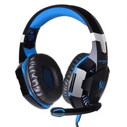 MyXL KOTION ELKE G2000 Diepe Bass Game Hoofdtelefoon Stereo Omgeven Over-Ear Gaming Headset Hoofdband Oortelefoon met Licht voor PC Gamer