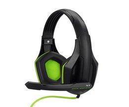 Top Game Hoofdtelefoon Professionele Headset Super Bass Over-ear Gaming met Microfoon Stereo Hoofdtelefoon voor Gamer PC Computer
