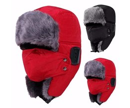 Bluetooth Hoed V3.0 Unisex Thicken Warm Faux Fur Winter Beanie Hoed Draadloze Headset Smart Cap Outdoor Zachte Cap