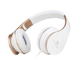 Geluid Intoneren Wired Gaming Headset met Microfoon en Volumeregeling Stereo Bass Headsets casque audio Voor PC, TV, telefoon of MP3