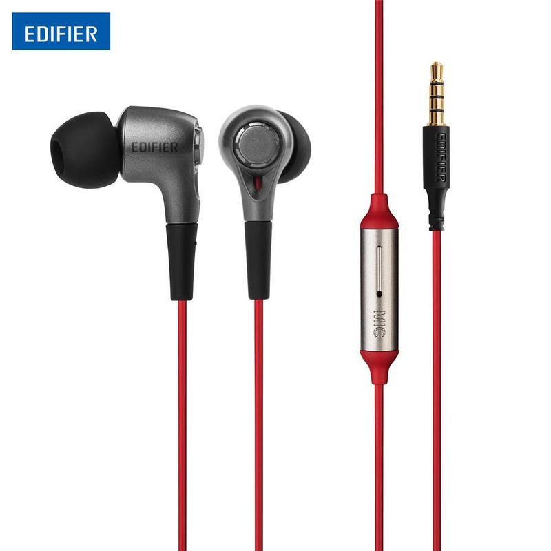 MyXL EDIFIER H230P Oortelefoons Hoge Prestaties Ergonomische Ontwerp Headset met Omnidirectionele Microfoon voor xiaomi iphone Huawei