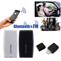 MyXL 2 in 1 Draadloze Bluetooth V4.1 + EDR 3.5mm Muziek Audio Receiver A2DP Stereo Auto Fm-zender L3FE