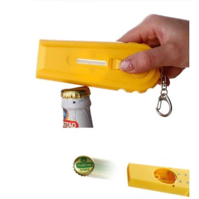 MyXL Grappige bieropener sleutelhanger met Dopschieter