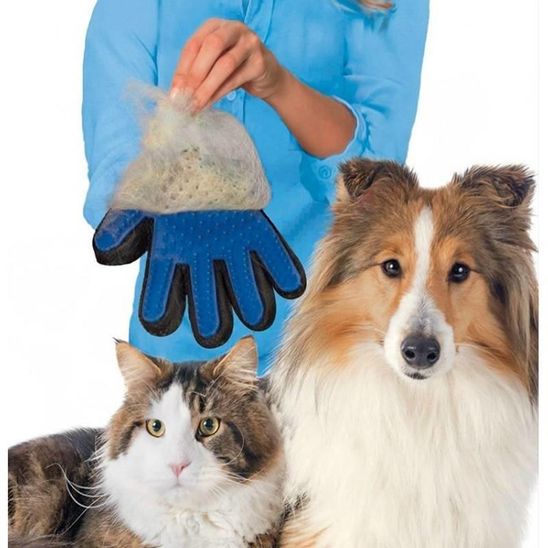 MyXL Borstelhandschoen Huisdieren