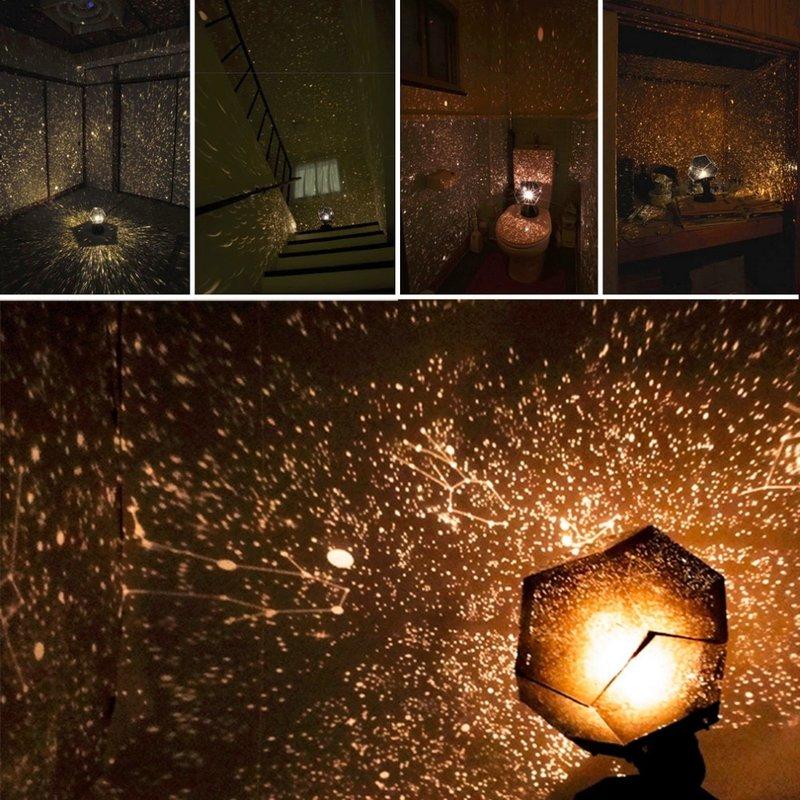 MyXL Celestial Star Astro Sky Projectie Cosmos Lichten Projector Night Lamp Starry Romantische Decoratie Verlichting GadgetKoop