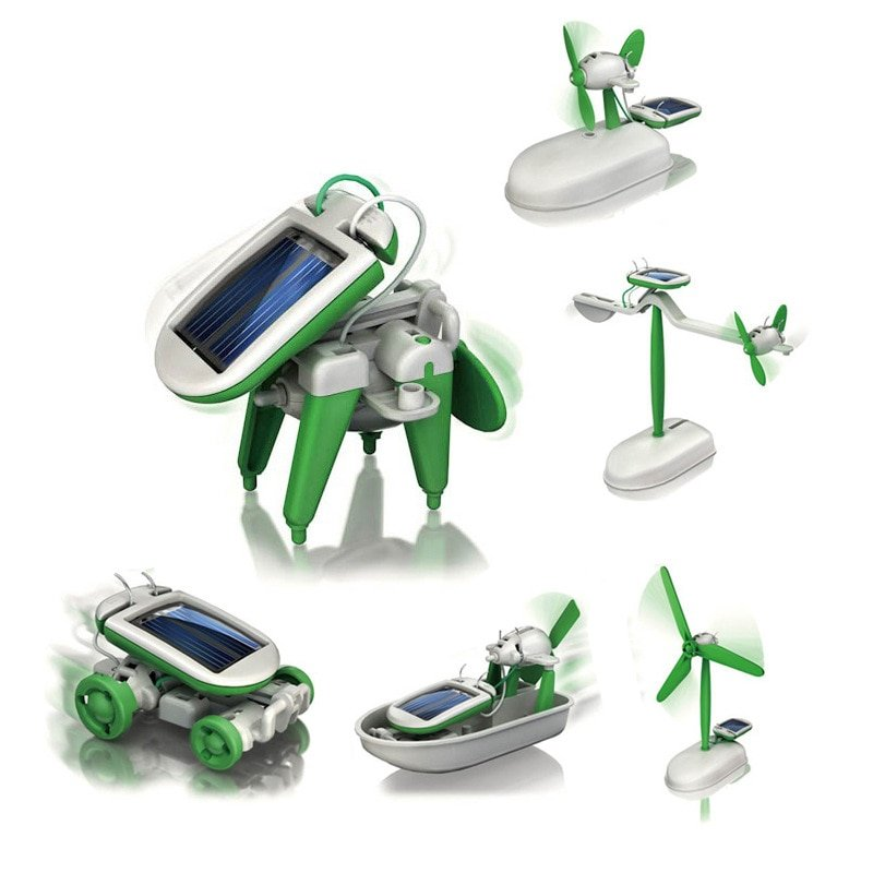 MyXL 6-in-1 Mini Solar Robot Kit Leerzaam Bouwpakket