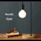 MyXL Nordic retro tafellamp slaapkamer bedlampje kantoor verlichting persoonlijkheid creatieve beknopte oogbescherming lamp hout decoratieve lamp
