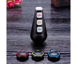 Draadloze RF Key Finder Locator met LED Zaklamp, Kerstcadeau Gadgets Elektronische Geschenken voor Mannen, Vrouwen, kinderen, Tieners-Zwart