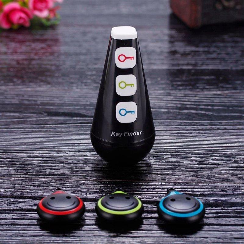 MyXL Draadloze RF Key Finder Locator met LED Zaklamp, Kerstcadeau Gadgets Elektronische Geschenken voor Mannen, Vrouwen, kinderen, Tieners-Zwart