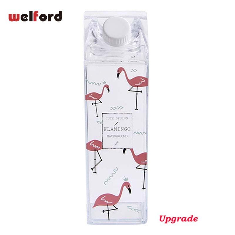 MyXL Flamingo Waterfles Melkpak Vorm