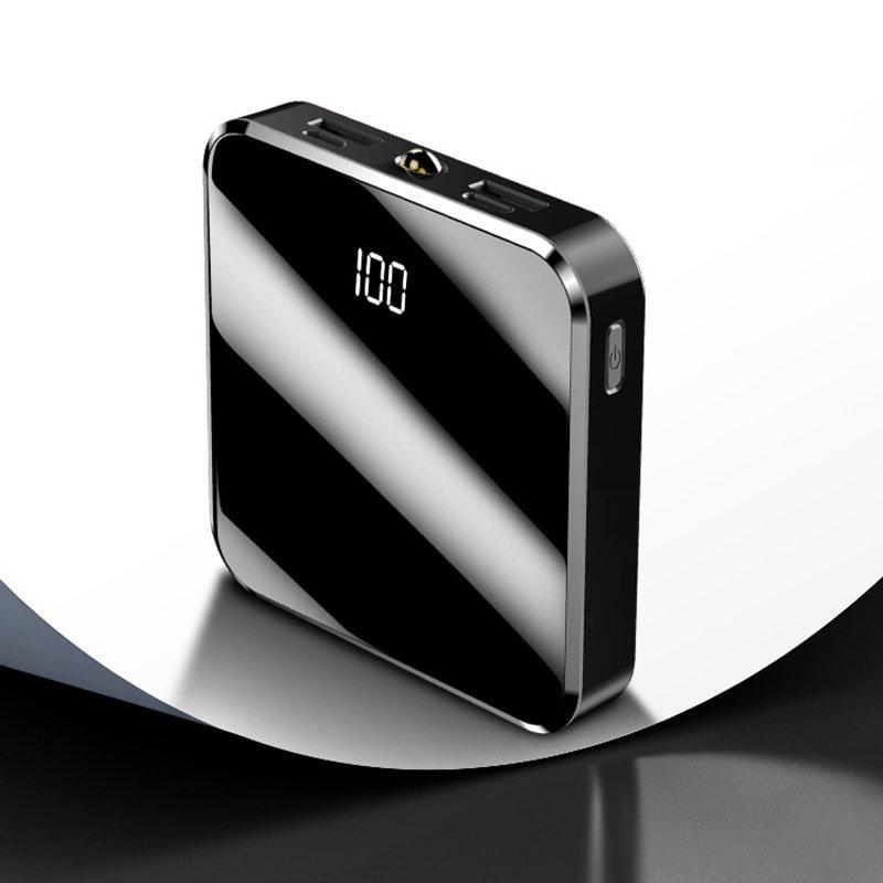 MyXL 20000 mAh Draagbare Oplader Power Bank 20000 mAh Mini PowerBank Mirror Screen Externe Batterij Voor Slimme Mobiele Telefoon