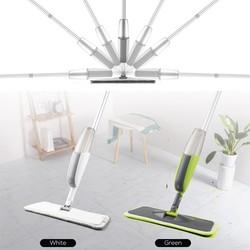 MyXL Magic Spray Mop Houten Vloer met Herbruikbare Microfiber Pads 360 Graden Handvat Huis Ramen Keuken Mop Veegmachine Bezem Schoon Gereedschap