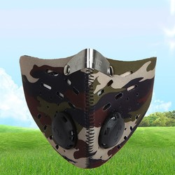 MyXL Outdoor Anti-dust Fietsen Gezichtsmasker Anti-vervuiling Luchtfilter Ademend Fietsen Wandelen Gezicht Maskers voor Mannen vrouwen
