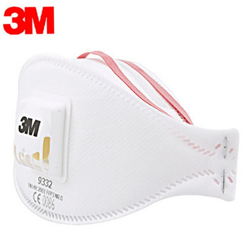 MyXL Echt 3 m 9332 anti-stof Beschermende Masker Anti-fog Haze Dust-proof FFP3 Niveau Anti-PM2.5 Hoofdband formule Uitademventiel Masker Mondkapje