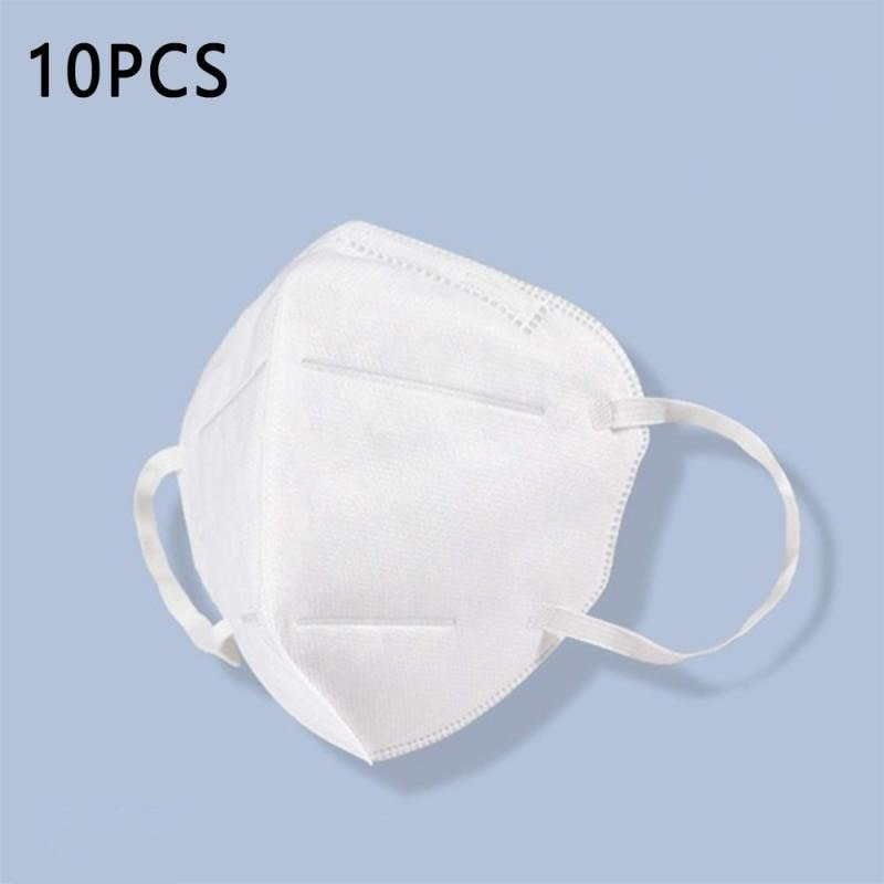 MyXL 10 Pcs Mondkapje KN95 Stofdicht Anti-Fog En Ademend Gezicht Maskers N95 Masker 95% Stof Filtratie Masker