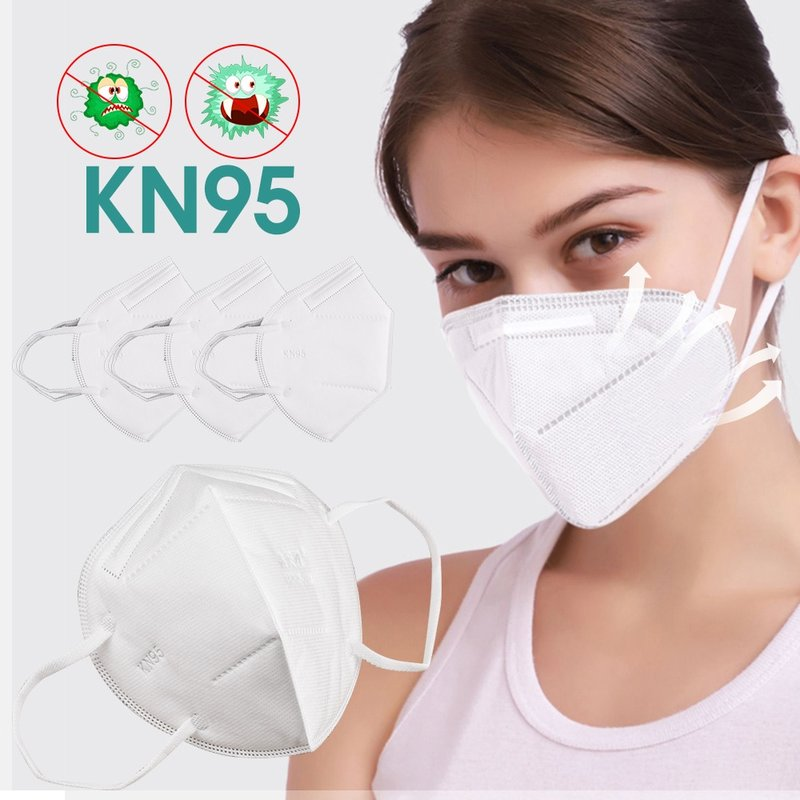 MyXL 10pcs Mondkapje KN95 Masks Non-woven Anti Dust Mouth Face Cover Safety Protective Earloops Face Mouth mask n95 mask Dustproof Mouth Maska