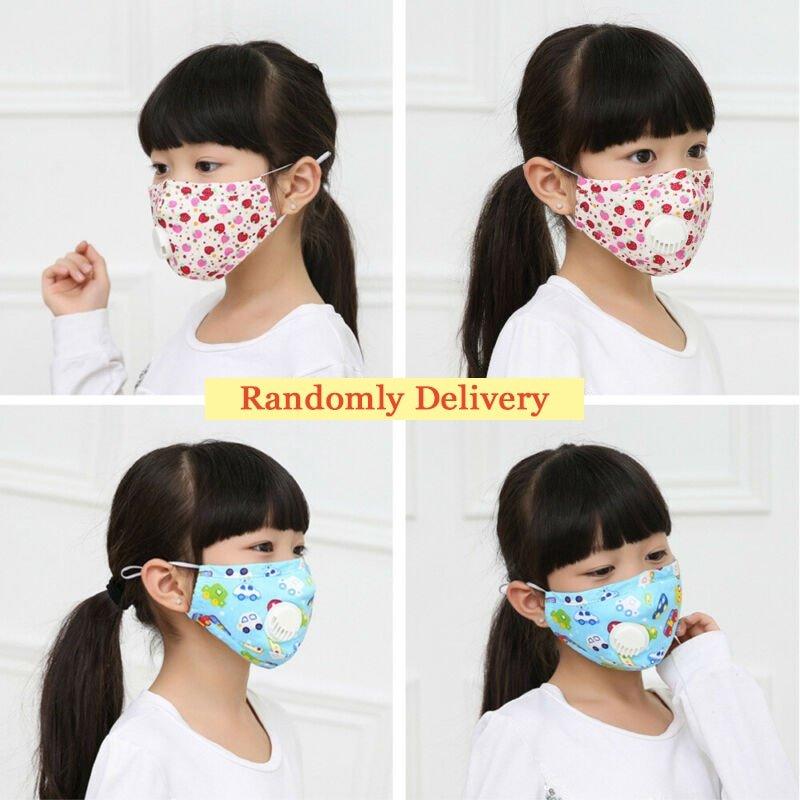 MyXL Mondkapje Kinderen Wasbare Herbruikbare N95 Anti-Bacteriële Gezicht Masker Leuke Cartoon Maskers Anti-Griep Anti-Dust maskers Respirator