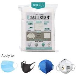 MyXL 100 Pcs  Mondkapje Wegwerp Filter Pad Voor Kinderen Volwassen Gezicht Mond Masker Respirator PM25 Geschikt Voor N95 KN95 KF94 Ffp3 2 1 Be