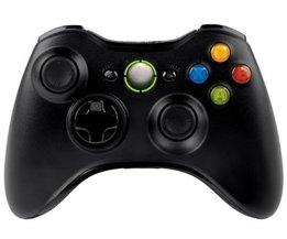 Draadloze controller voor Xbox 360 zwart