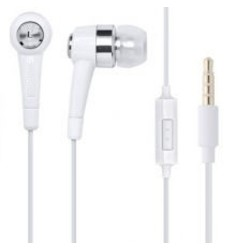 Stereo Headset 3.5mm Wit voor Samsung