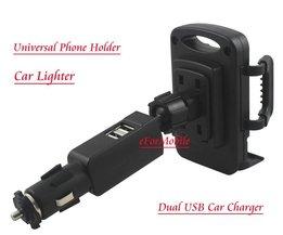Smartphone Houder Auto met Oplader