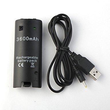 Batterij USB Oplader voor Nintendo Wii-Wii U