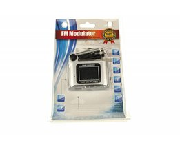 FM/MP3 transmitter auto budget
