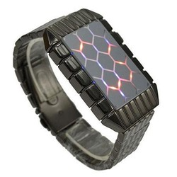 LED horloge turtle back