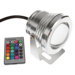 LED Spot IP67 Kleur met Afstandsbediening