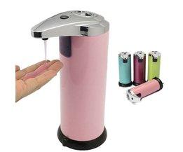 RVS look automatische zeepdispenser