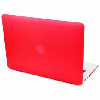Hardshell Cover SmartShell Mat Rood voor de MacBook Pro 15 inch